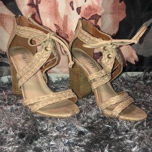 Tan Mi.im Tan Heel Sandals